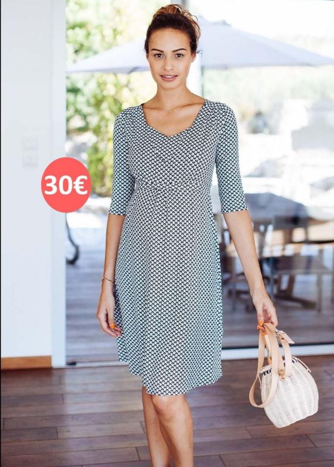 Pomkin feeding dress geomarine